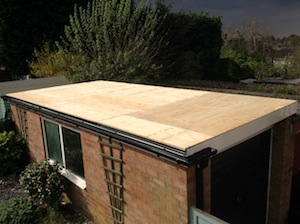 flat-roof-during